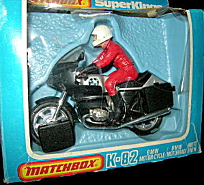 Matchbox Supeekings K-82 Motorcycle Mint In Box