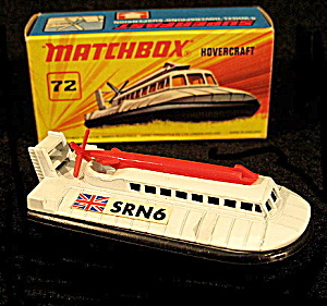 1969 72 Hovercraft Super Fast Mint In Box