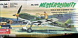 Monogram Messerschmitt Me109g Wwii Fighter Model Kit