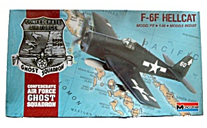 1988 Monogram Confederate Air Ghost Model Kit