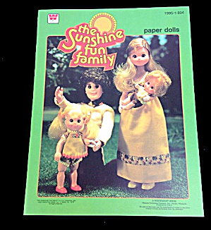 1978 Whitman The Sunshine Family Paper Dolls