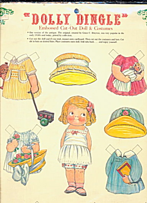 1981 Dolly Dingle Paper Dolls