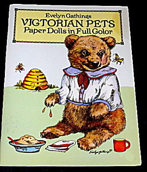 Dover 1986 Victorian Pets Paper Dolls