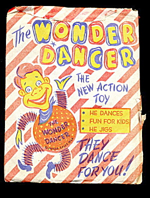 1950s Howdy Doody Wonder Dancer Paper Doll In Packet