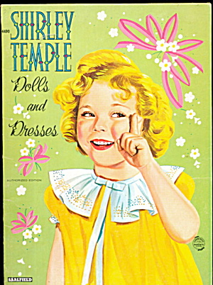 1940s Shirley Temple Dolls & Dresses Paper Dolls