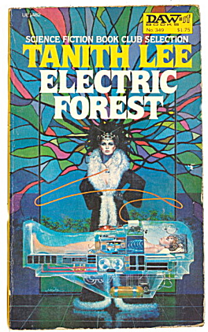 1979 'electric Forest' Tanith Lee Daws Book