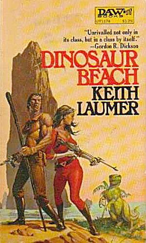 "1972 ""dinosaur Beach"" Keith Laumer Book"