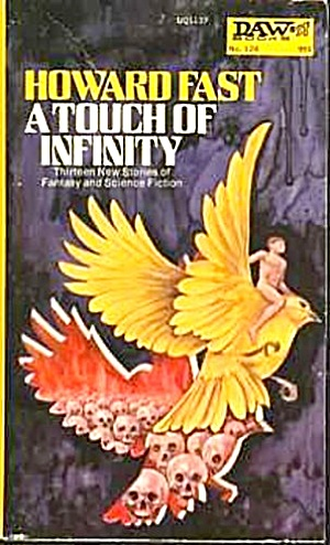 "1974 ""a Touch Of Infinity"" Sci-fi Book"