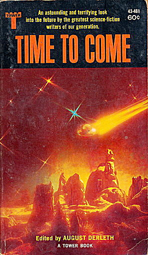 """time To Come"" August Derleth Sci-fi Book"