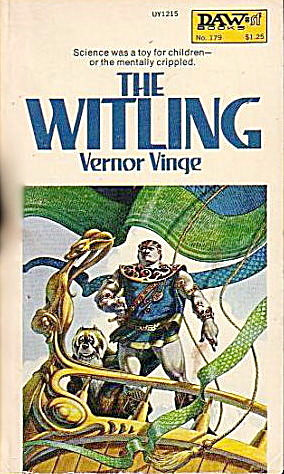 """the Witling"" Vernor Vinge Sci Fi Book"
