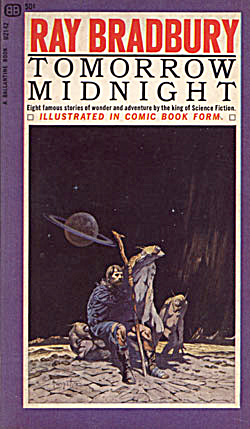 "1966 ""tomorrow Midnight"" Ray Bradbury Book"