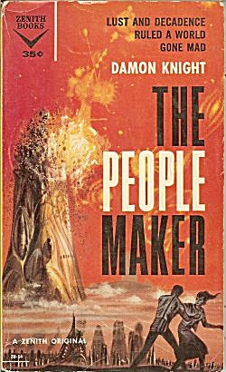 "1959 ""the People Maker"" Damon Knight Book"