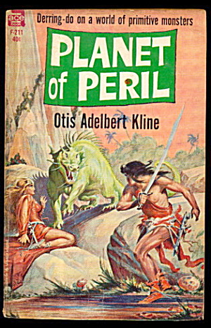 """planet Of Peril"" 1961 Ace Otis Kline Book"