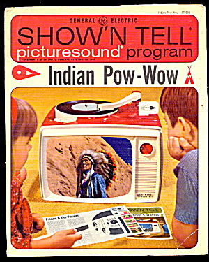 "1964 Show'n Tell ""indian Pow-wow"" Ge Record"