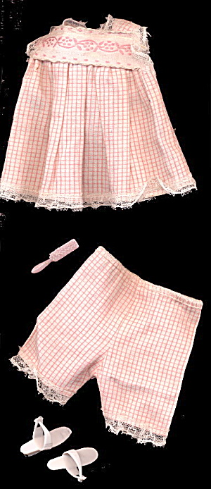"1962 Tammy #9092-8 ""sleepytime"" Outfit"