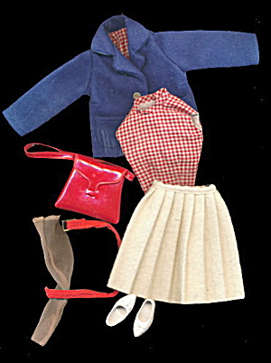 1962 Tammy #9175-1 'checkmate' Outfit