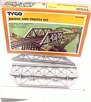 Tyco Ho Scale Bridge And Trestle Set