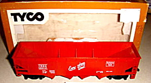 Tyco Ho Scale Cb&q Hopper In Box