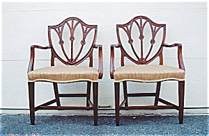 American Neoclassical Dining Chairs