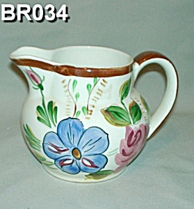 "Blue Ridge ""helen"" Shape Pitcher"