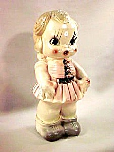 "12"" Carnival Chalk Doll Bank"