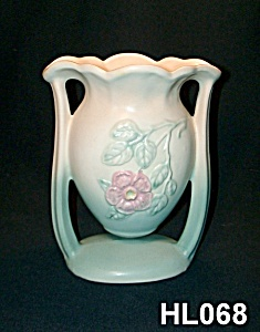 "Hull ""dogwood/wild Rose"" Suspended Vase"