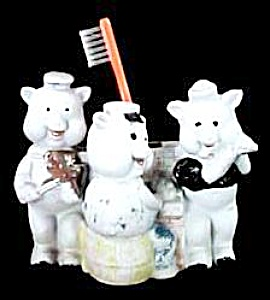 """the Three Little Pigs"" Toothbrush Holder"