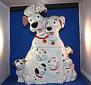 101 Dalmations Cookie Jar