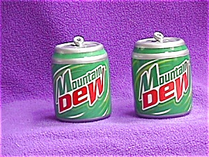 Mountain Dew Cans Salt & Pepper