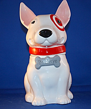 Bullseye The Target Dog Cookie Jar