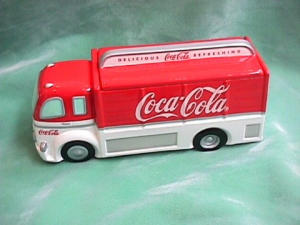 Coke Truck Cookie Jar