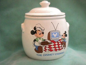Disney Channel Cookie Jar