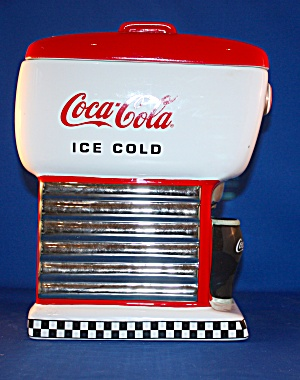 Coke Soda Fountain Cookie Jar