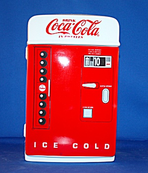Coke Vending Machine Cookie Jar