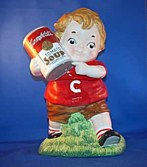 Campbell Soup Kid Cookie Jar