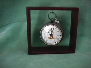 Mickey Pocket Watch Clock