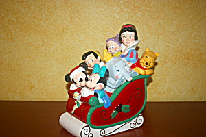 Disney Sled Cookie Jar