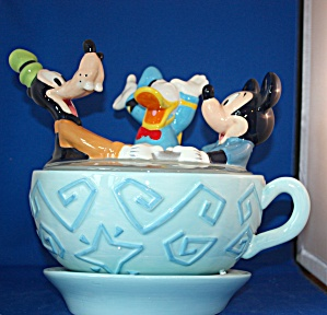 Disneyland Teacup Ride Cookie Jar