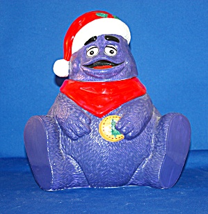 Mcdonalds Grimace Cookie Jar