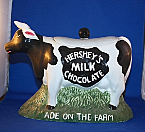 Hersey Cow Cookie Jar