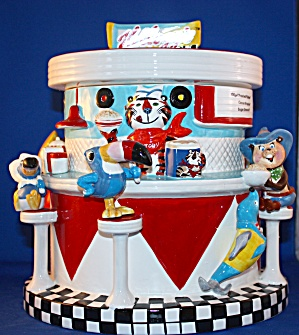 Kellogg's 100th Anniversary Cookie Jar