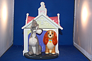 Lady & The Tramp Cookie Jar