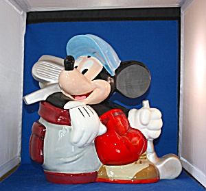 Mickey Canine Caddy Cookie Jar