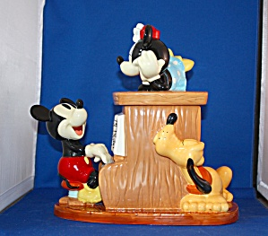 Mickey Playing The Piano Cookie Jar