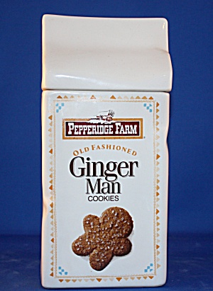 Pepperidge Farm Ginger Man Cookie Jar