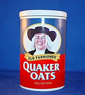 Quaker Oats Anniversary Cookie Jar