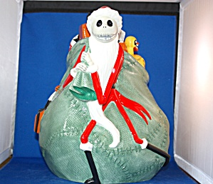 Santa Jack Nightmare Before Xmas Cookie Jar