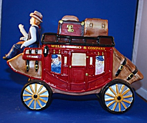 Wells Fargo Stage Coach Cookie Jar
