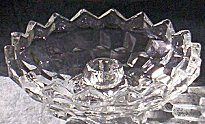 Cube Or Cubist Candle Bowl Jeannette Glass