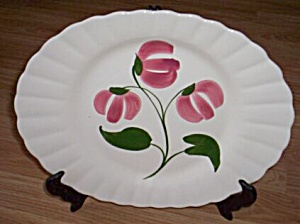 Blue Ridge Pottery Large Platter Flirt